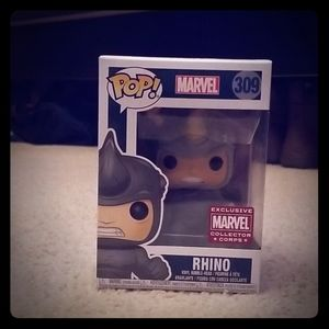 Rhino Pop figure, Lootcrate Exclusive